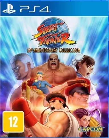 Street Fighter 30th Anniversary Collection - Ps4