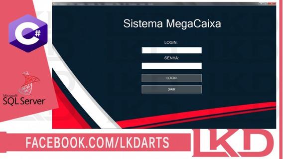 Sistema C# Megacaixav2 Com Bd Sql Server Ce Código Fonte Lkd