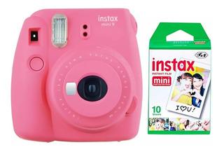 Fujifilm Instax Mini 9 Selfie + 10 Fotos Garantía Oficial