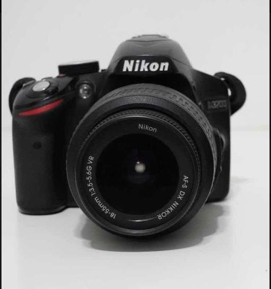 Câmera Nikon D3200 (com 17400 Clicks)