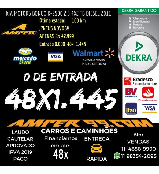 Kia Motors Bongo K-2500 2.5 4x2 Tb Diesel 2011 Carroceria