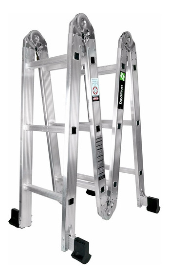 Escalera Multiposiciones Davidson D-2095-13 Con 8 Posiciones