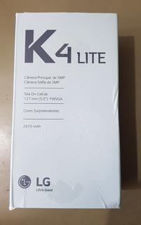Caixa Vazia Lg K4 Lite