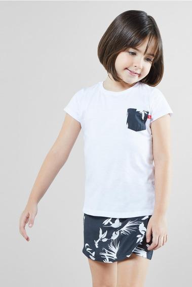 Camiseta Bolso Est Maui Reserva Mini