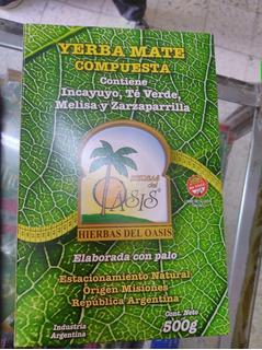Yerba Mate Orgánica Compuesta Sin T.a.c.c.