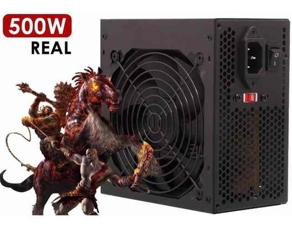 Fonte Para Pc Gamer Atx 500w Real Super Silenciosa Bivolt