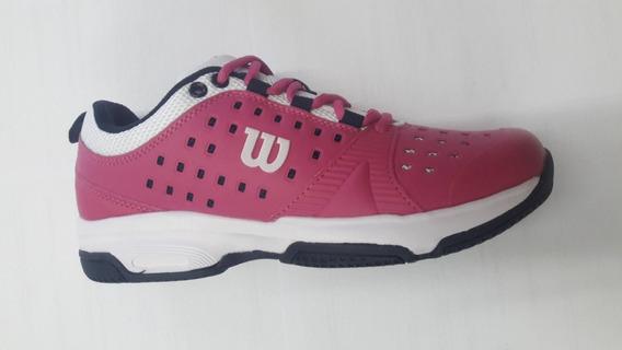 Zapatillas Wilson Set Jr Tenis Padel Voley Envio Pais Gratis