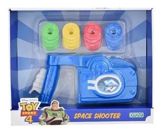 Space Shooter Toy Story Ditoys 2274 Pistola Lanza Disco