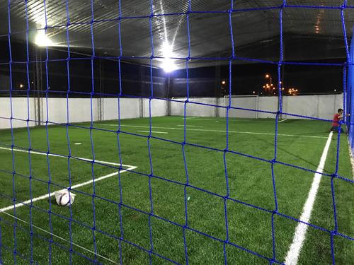 Redes Cancha Futbol Seguridad Deportiva.