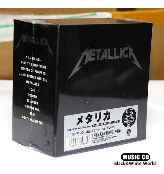 Metallica The Album Collection 13 Cd Box Set Frete Grátis