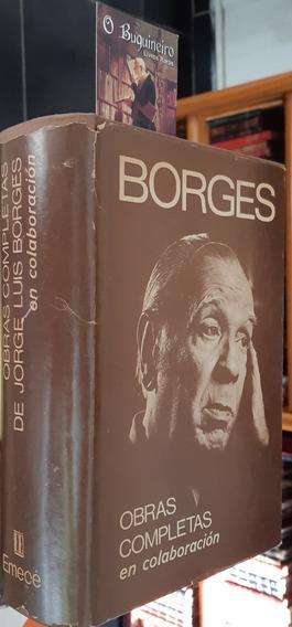 Obras Completas En Colaboración - Jorge Luis Borges