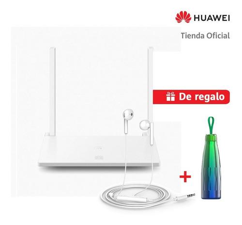 Huawei Router Wi-fi Ws318n Blanco + Audifonos + Thermo Inox