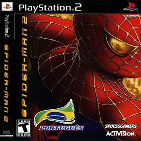 Homem Aranha - Spider-man 2 Ps2 Patch Portugues Infantil Me