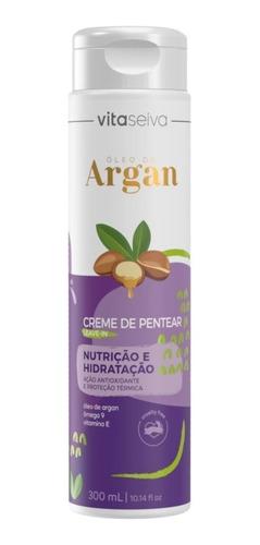 Creme Pentear Oleo De Argan Lançamento Leaven-in 300ml Vs