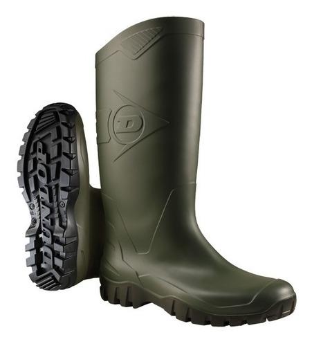Botas De Goma Pvc Dunlop K680011 Dane Verde Alta 38 - 46