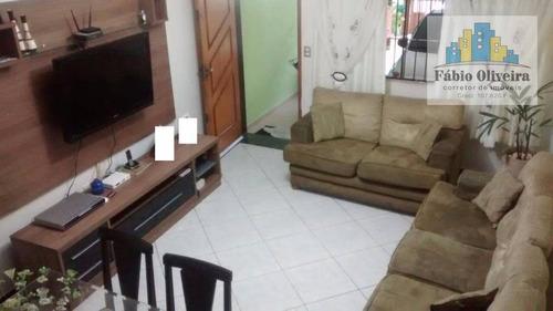 Sobrado Com 3 Dormitórios À Venda, 98 M² Por R$ 480.000 - Jardim Progresso - Santo André/sp - So0392