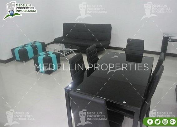 Alquiler Temporal De Apartamentos En Medellín Cód: 4578