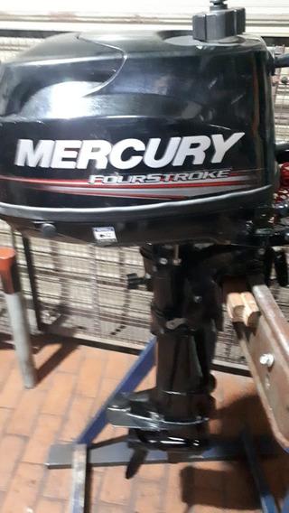 Motor Mercury F/b 5 Hp 4 Tiempos Casi Sin Uso