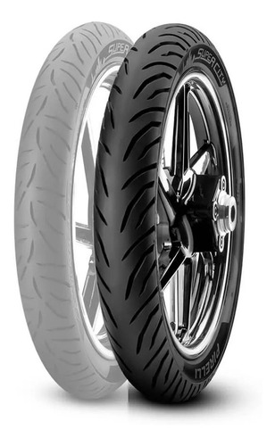 Cubierta Pirelli 80/100-14 Super City C/c 49l