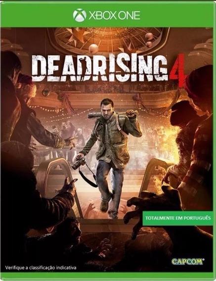 Jogo Dead Rising 4 Xbox One Midia Física Português Novo