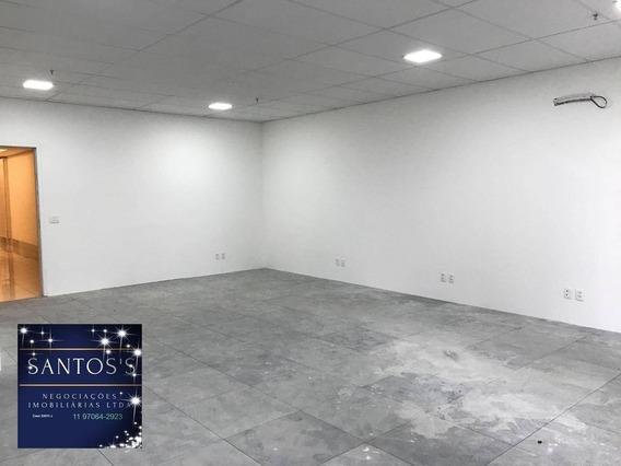 Sala Para Alugar, 68 M² Por R$ 3.000/mês - Brooklin - São Paulo/sp - Sa0035