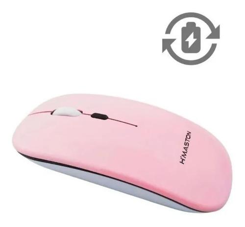 Imagem 1 de 2 de Mouse Gamer Sem Fio Recarregável Led Rgb 1600 Dpi