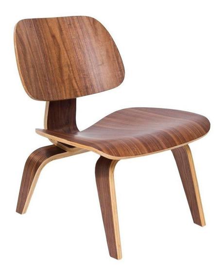 Sillón De Diseño Plywood Eames De Madera Nórdico - Plywood