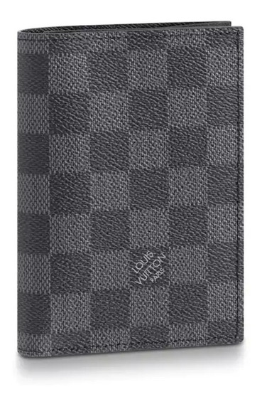 Porta Passaporte Louis Vuitton Monogram Couro Top Exclusivo