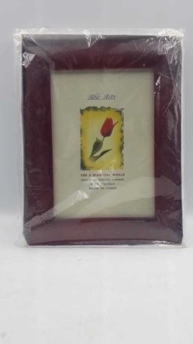 Porta Retrato Able Arts  5x7  13x18cm Vermelho