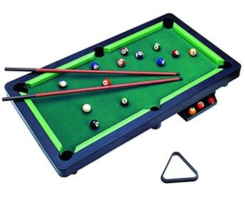 Imagem 1 de 6 de Mini Mesa Sinuca Snooker 11 Bolas Bilhar Infantil Braskit