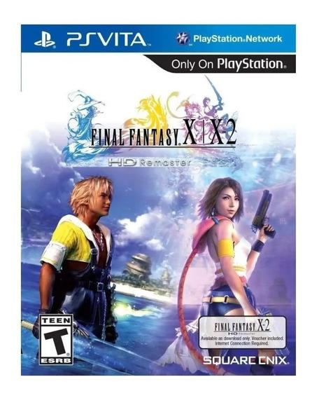 Game Ps Vita Final Fantasy X/x2 Hd Remaster Lacrado