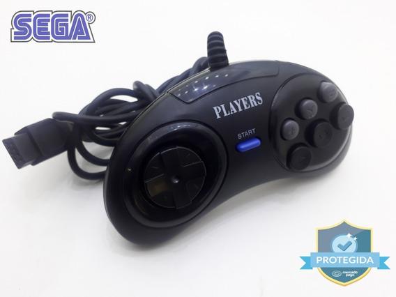 Controle Sega Mega Drive Joystick (turbo)