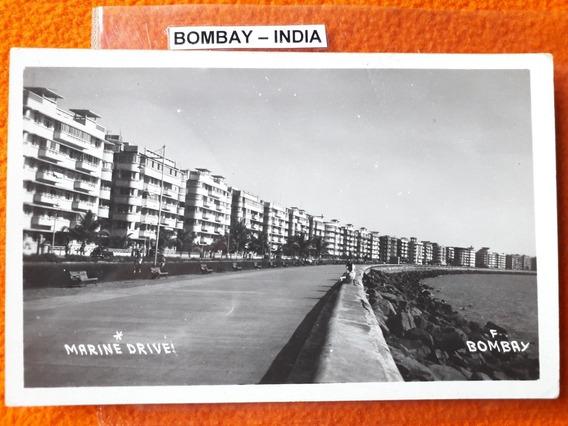 Antigua Postal De La Ciudad De Bombay La India