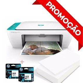 Impressora Hp Multifuncional 2675 Wi-fi 3x1 Promoção