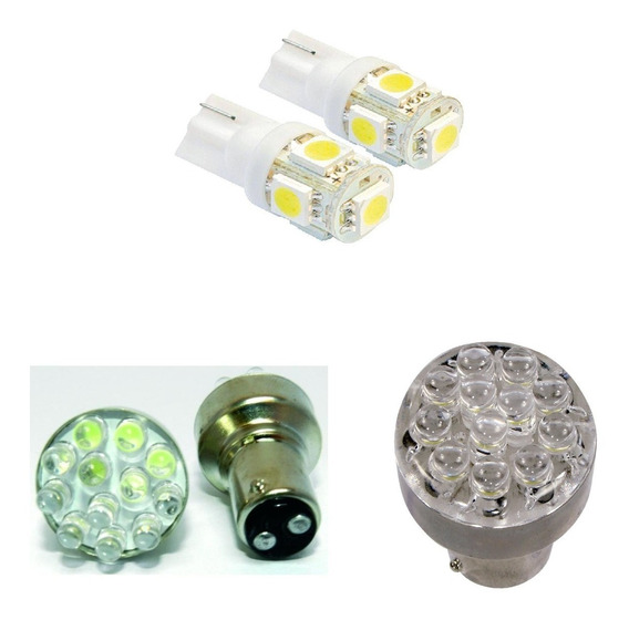Kit Lampada Led Automotiva Pingo Dagua/ 1141/ 1034 12v