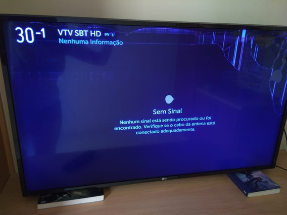 Vendo Tv LG 43 Com Led Danificado