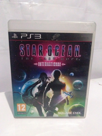 Jogo Star Ocean The Last Hope International Ps3 R$79,9