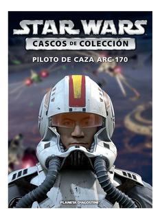 Star Wars Cascos De Colección Nº 38 Piloto De Caza Arc-170