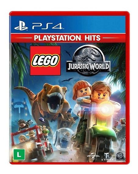 Lego Jurassic World - Ps4 - Novo - Lacrado - Mídia Física