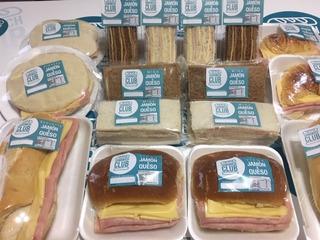 Sandwich Envasados, Sandwich De Miga, Baguets, Medias Lunas