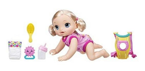 Baby Alive Que Engatinha Baby Alive Hora Do Passeio Loira