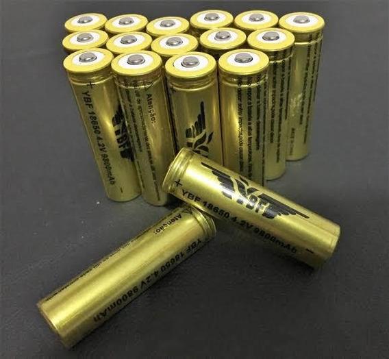 Bateria Recarregável 8800mah Profissional Lítio Nk18650 4.2v