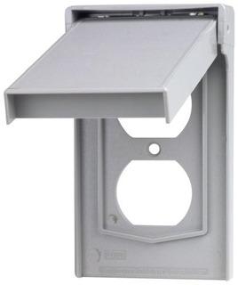 Leviton 4978gy 1gang Dispositivo Dúplex Placa De Pared Cubi