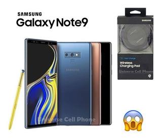 Samsung Galaxy Note 9 128gb + Wireless Charging 5 Tiendas