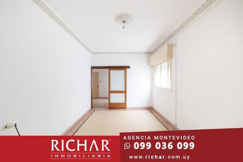 Apartamento Buceo Alquiler 3 Dormitorios Terraza Azotea