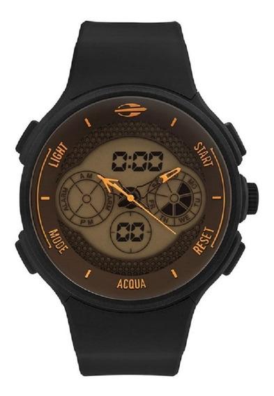 Relógio Mormaii Masculino Preto Grande Mo160829ae/8l