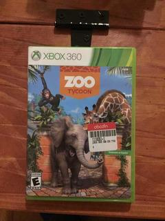 Juego De Xbox 360 zoo Tycoon