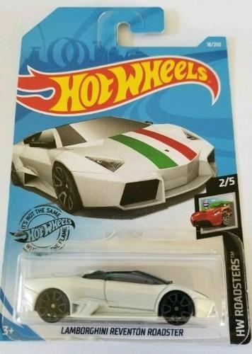 Hot Wheels Lamborghini Reventon Roadster Blanco Italia 2019