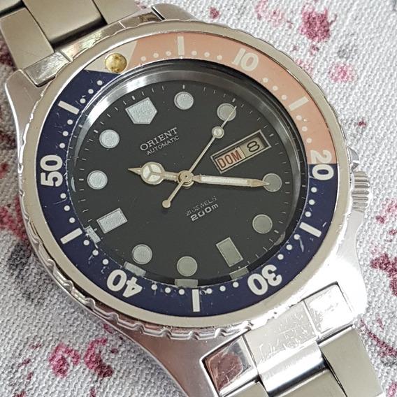 Relógio Orient Tubarão Scuba Diver Antigo Rsc112