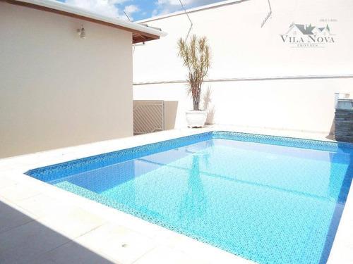 Casa Com 4 Dormitórios À Venda, 230 M² Por R$ 1.000.000,00 - Jardim Esplanada - Indaiatuba/sp - Ca0702